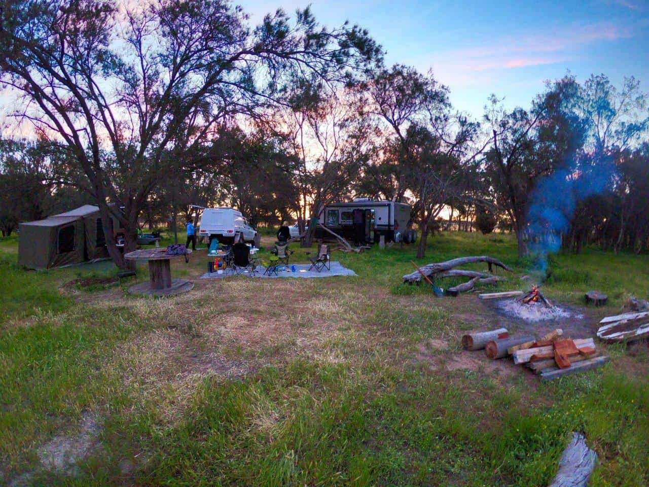 Camping at Trapwell Farm