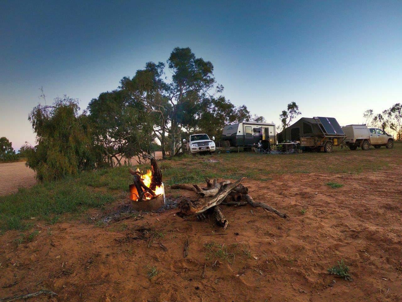 Fires at Wooramel