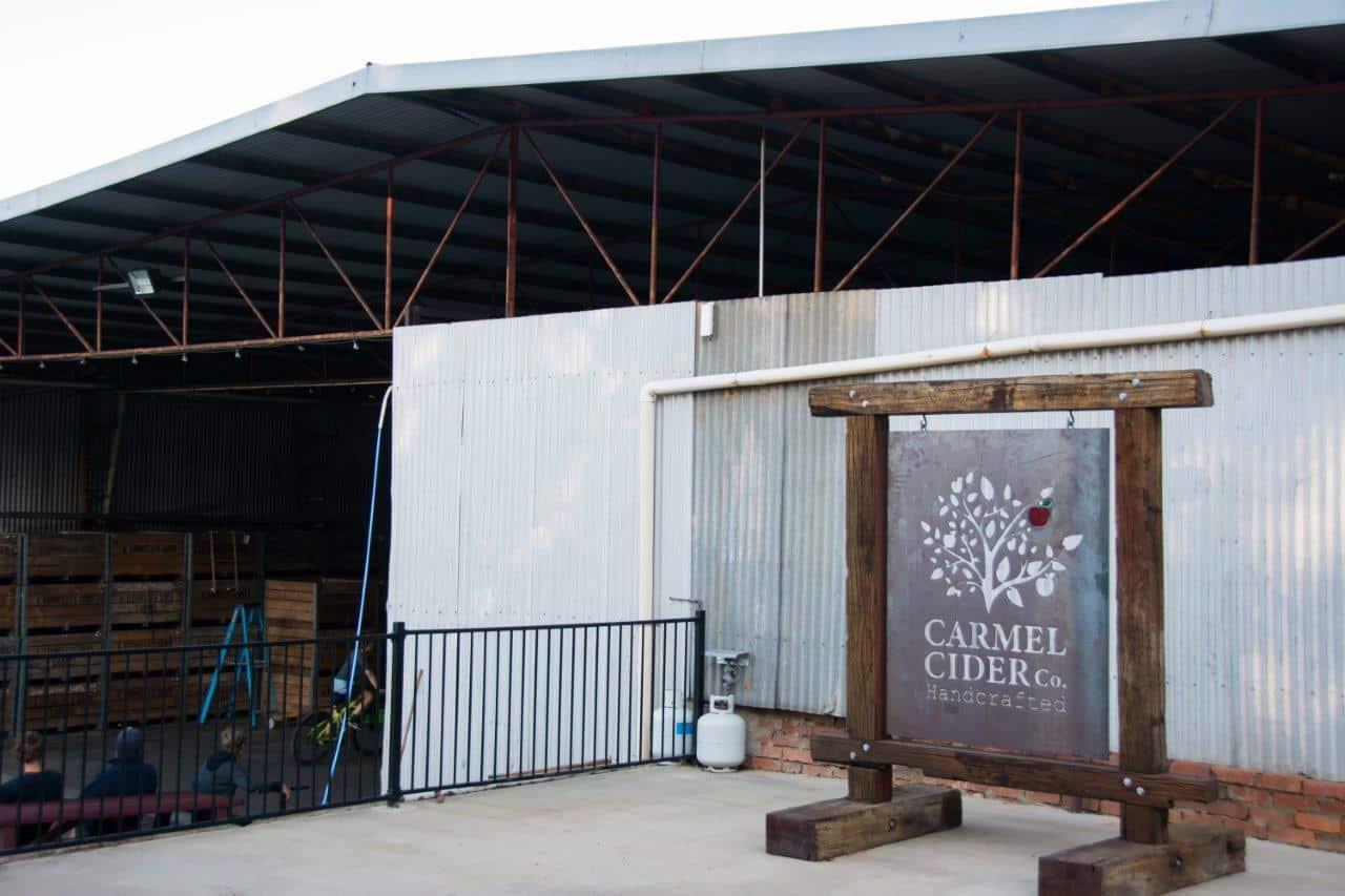 Carmel Cider shed