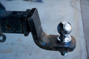 Tow hitch orientation