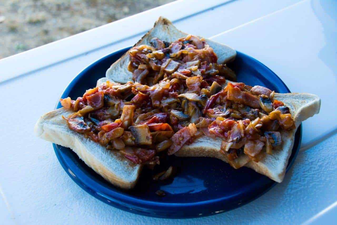 Delicious camping breakfasts