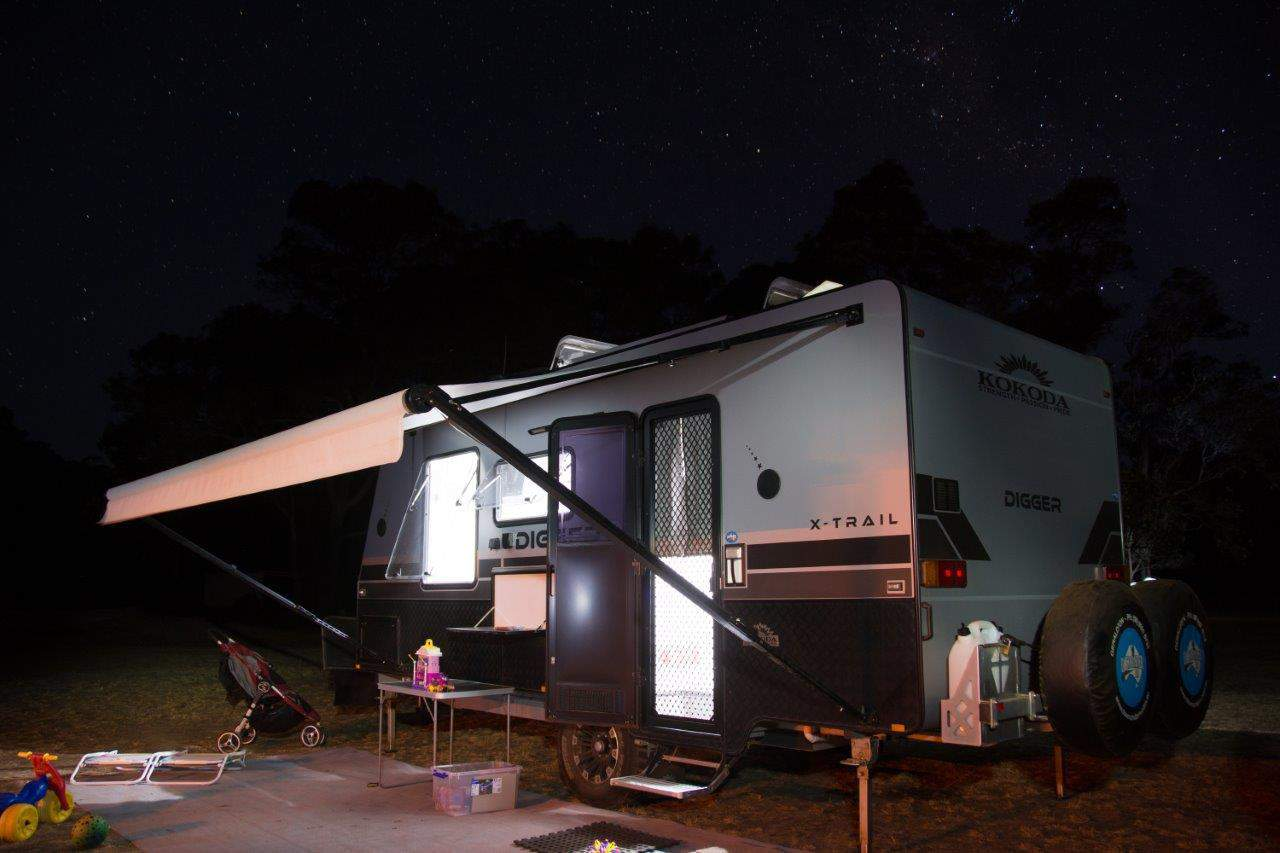 Kokoda Digger Caravan