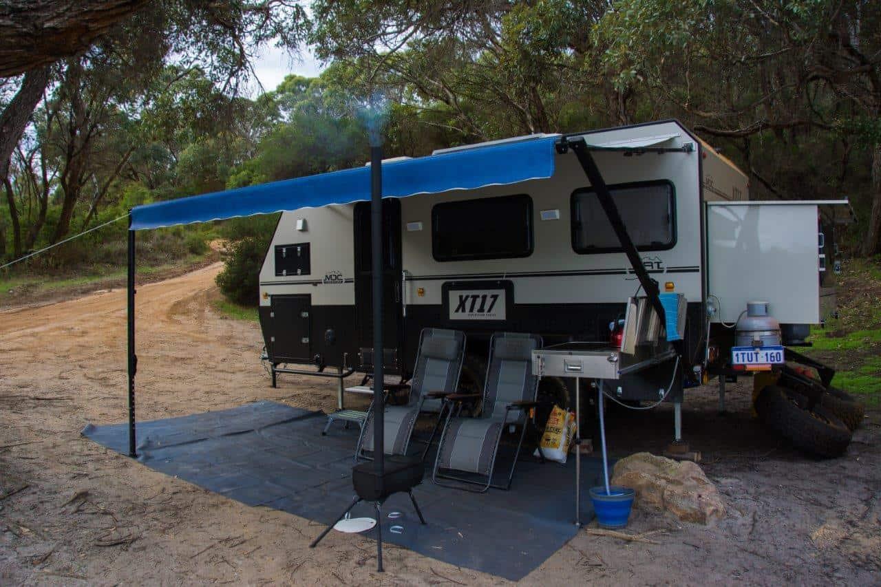Full size caravan