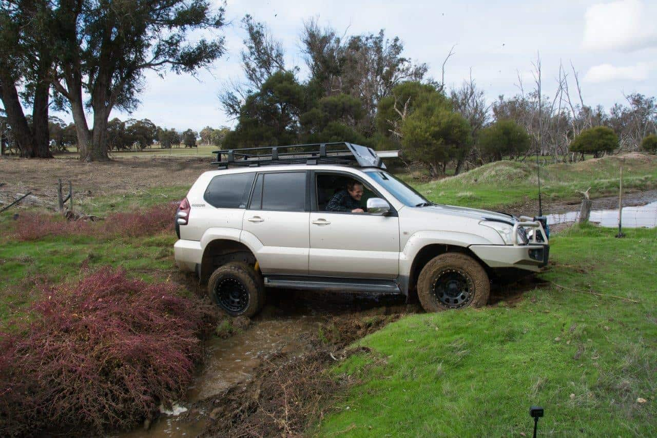 4WD entry angle
