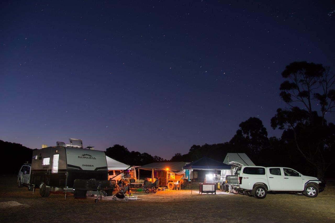 Camping at Glenbrook
