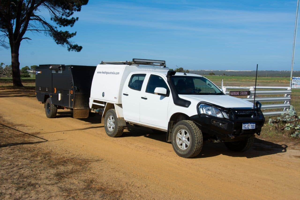 Dmax towing