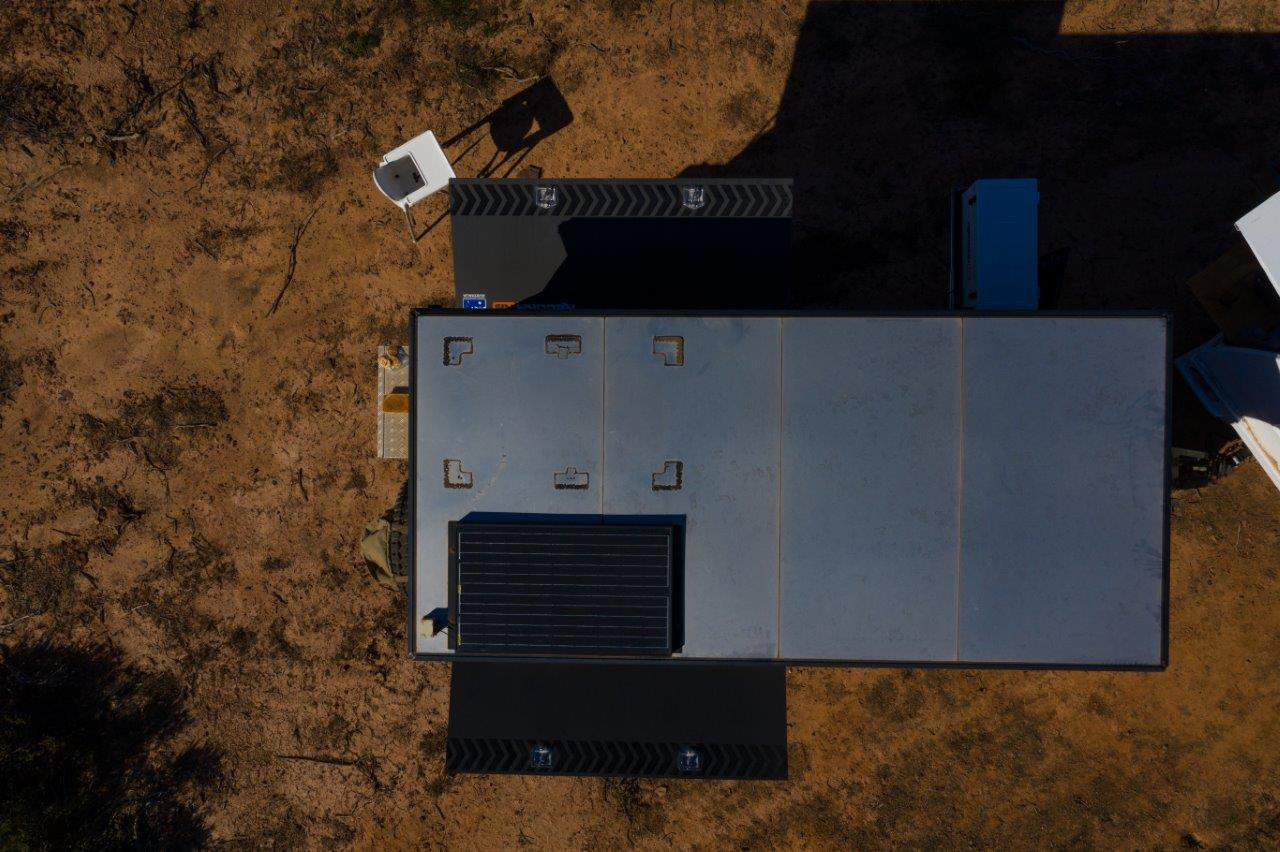 Missing solar panel