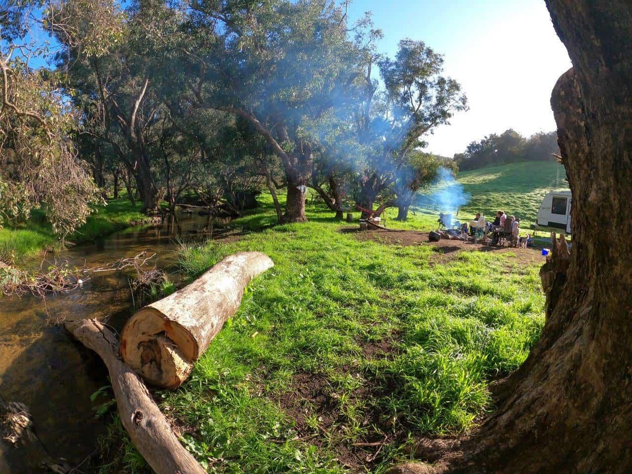 Camping at Bolinda Vale Grazing