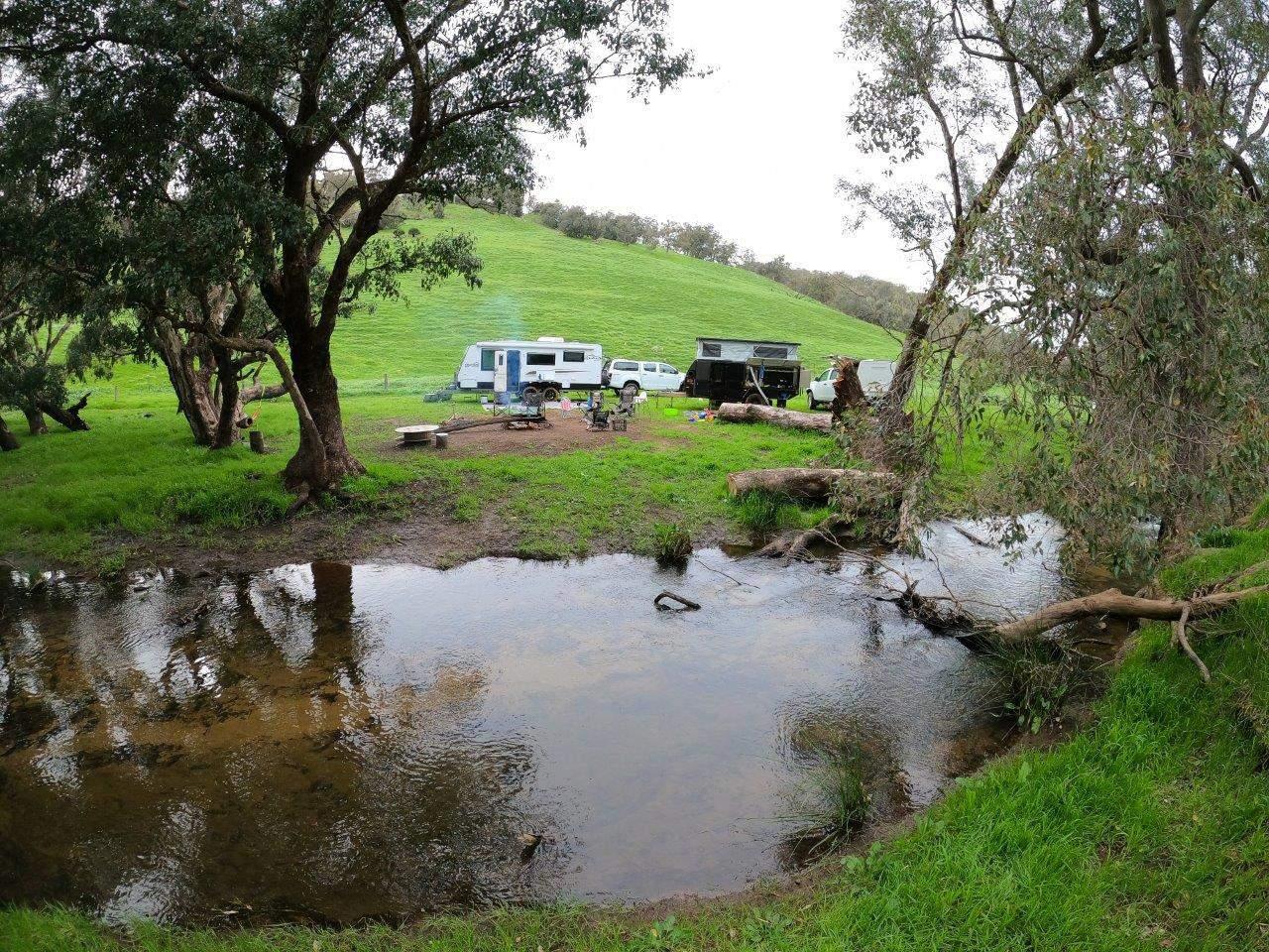 Camping at Bolinda Vale