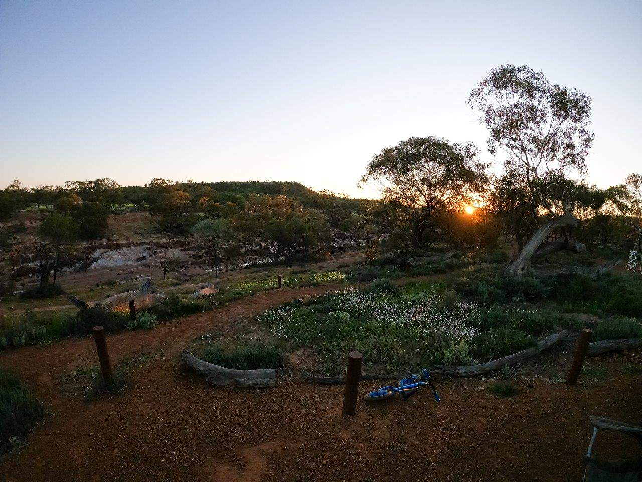 Sunset at Coalseam