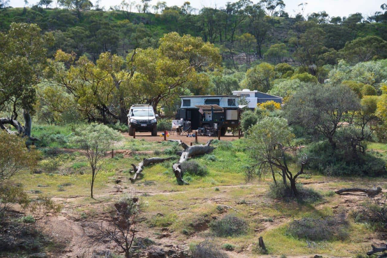 Coalseam camping