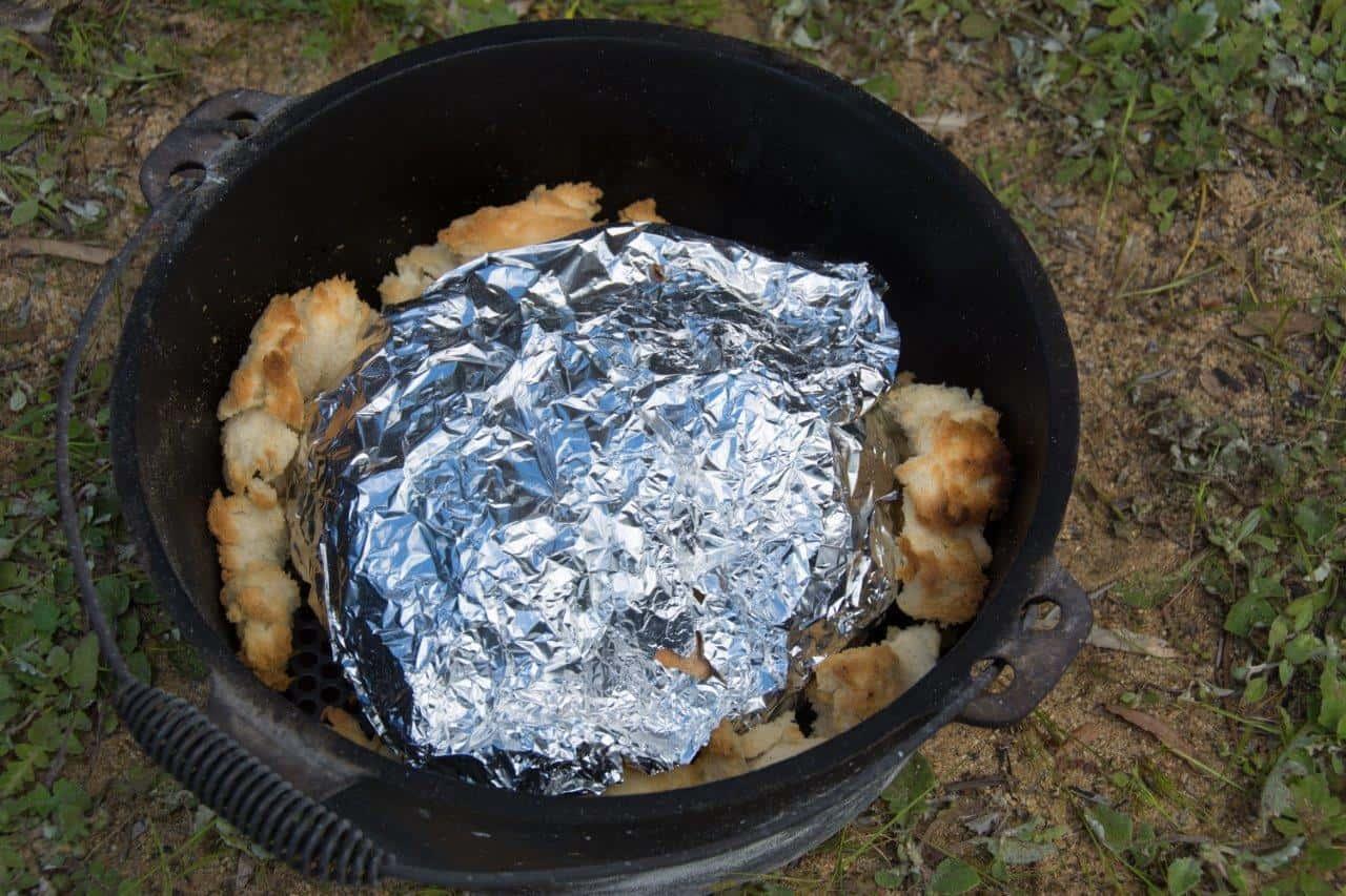 Cooking a cob loaf