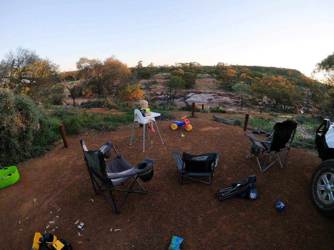 Coalseam Conservation Park camping