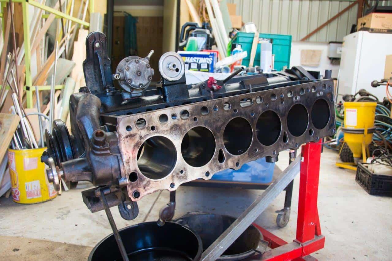 4.2L FJ45 motor