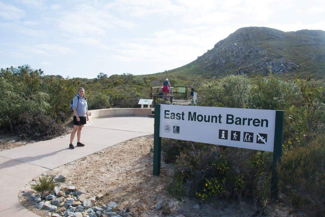 Hiking East Mount Barren