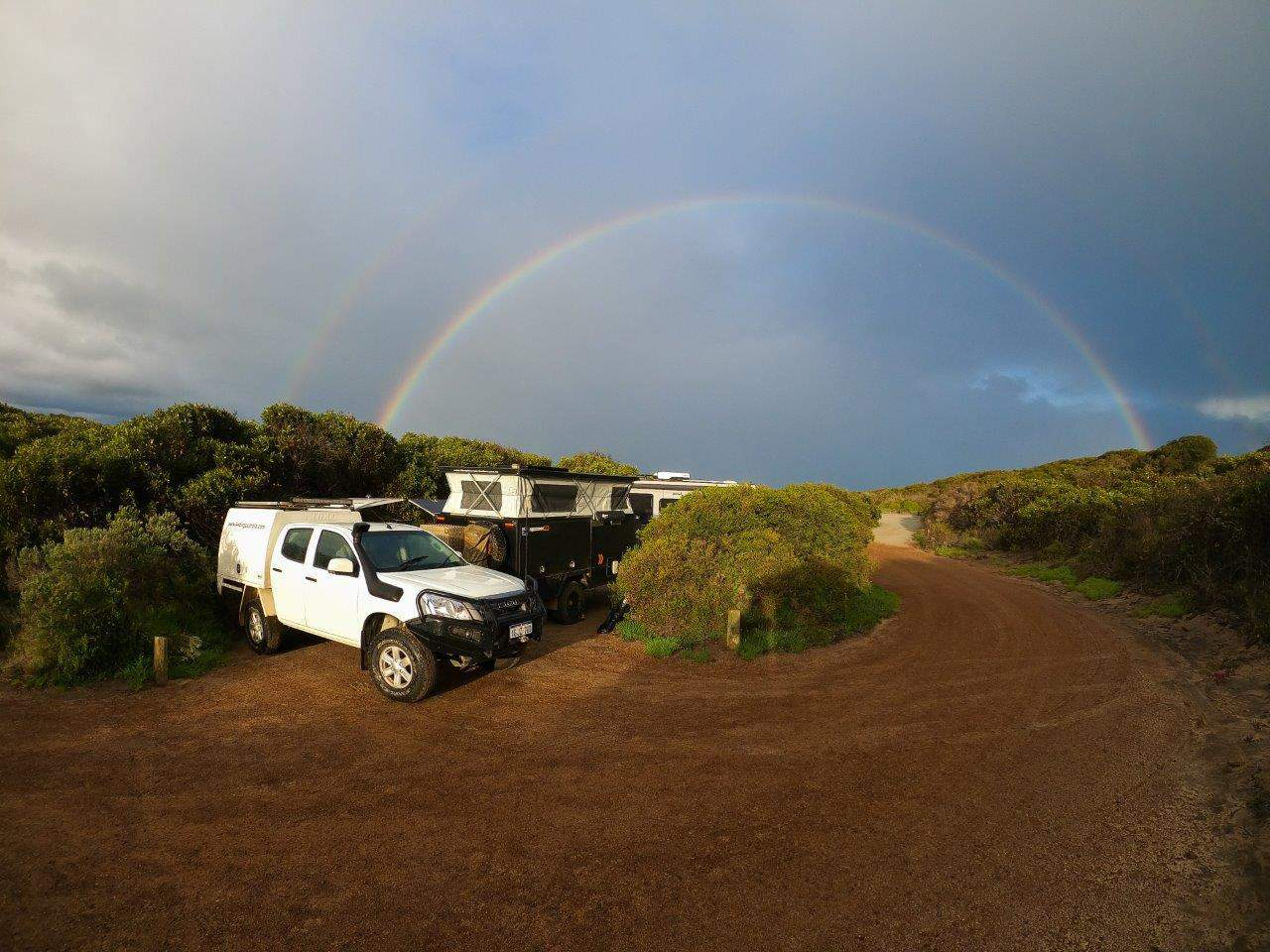 St Mary Inlet Camp