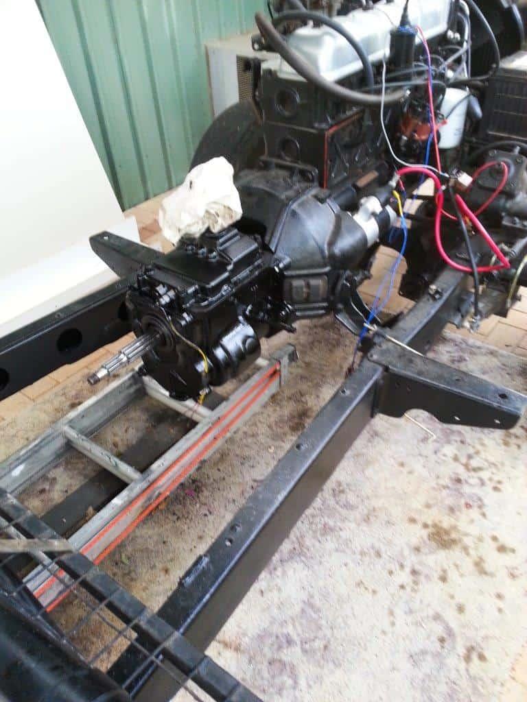 FJ45 gearbox