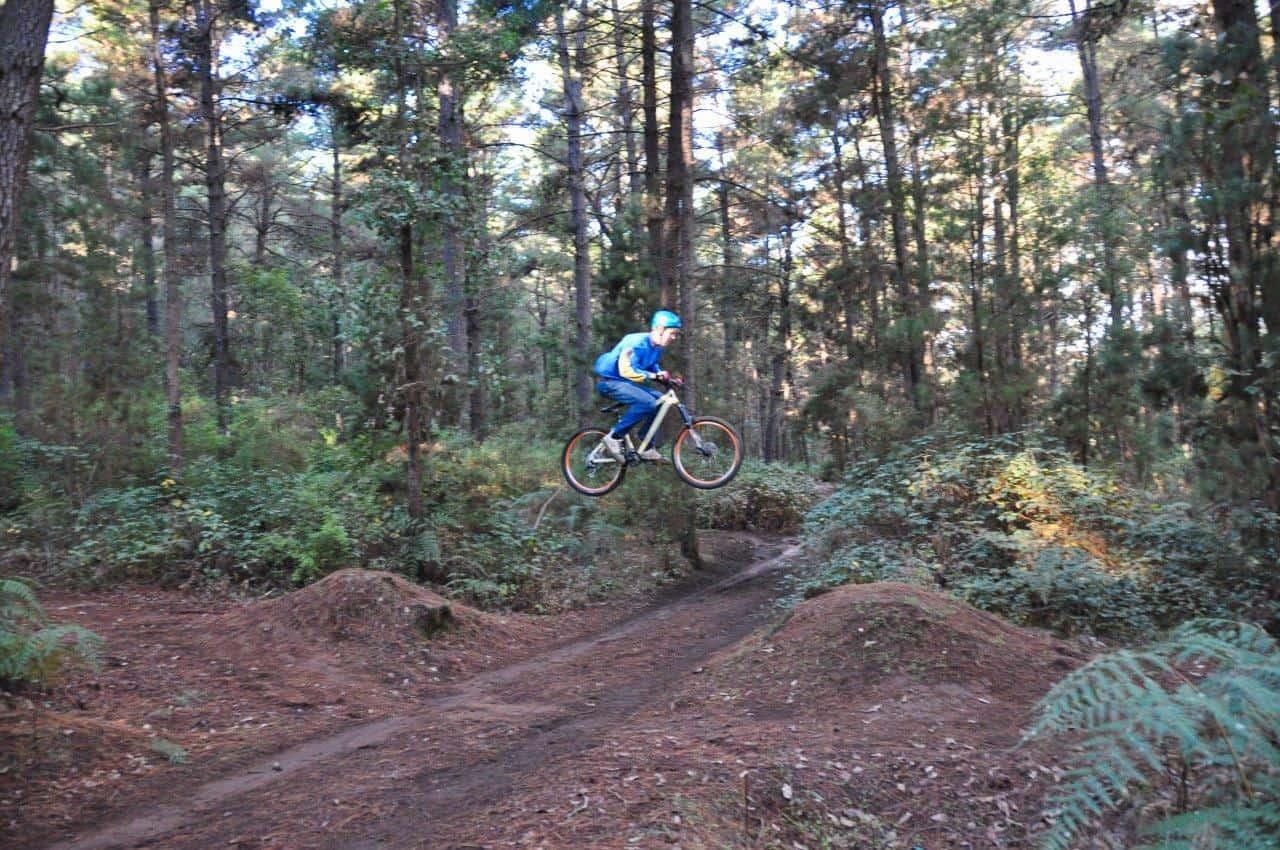 Downhill at Dwellingup