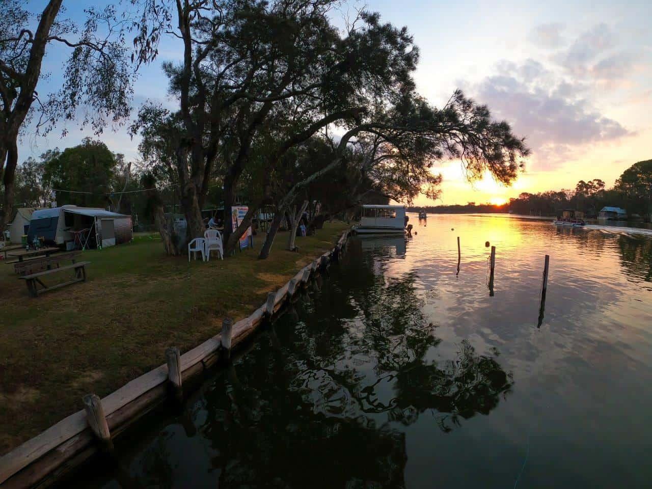 Murray River at Tathams