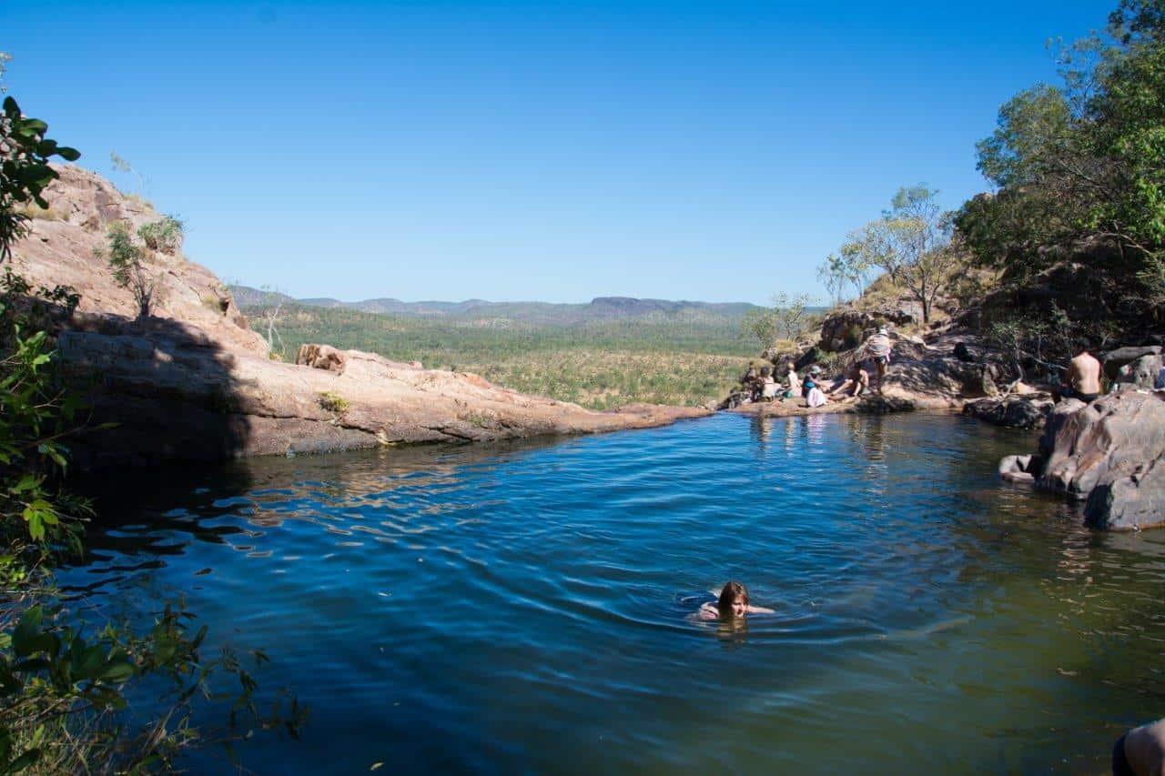 Swimming at Gunlom