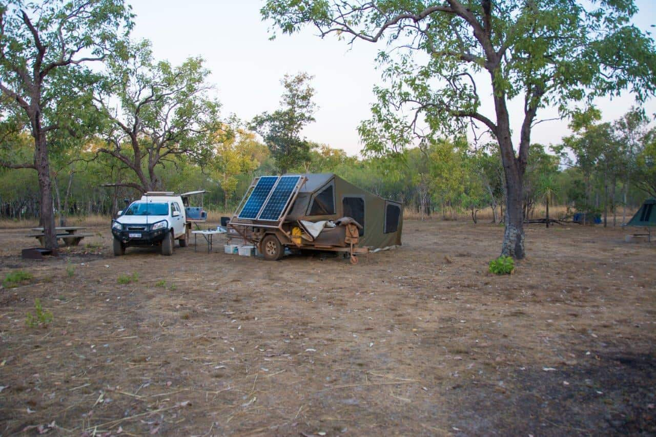 Our camp site at Kakadu