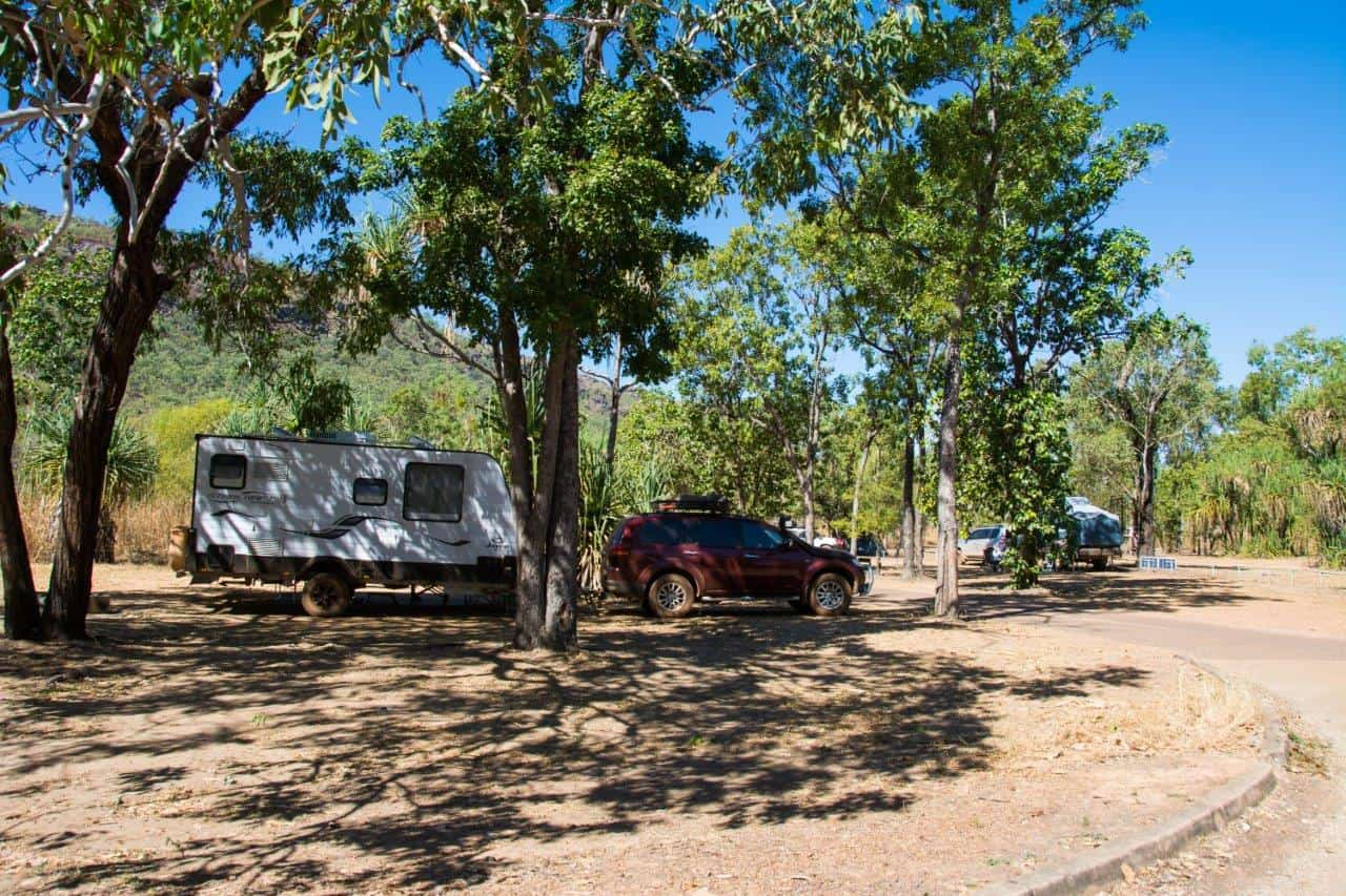 Gunlom camping