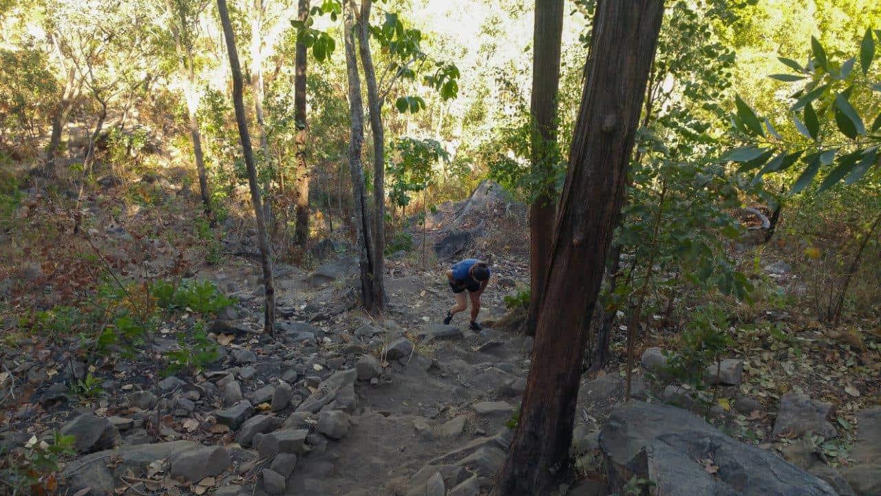 Climbing Gunlom