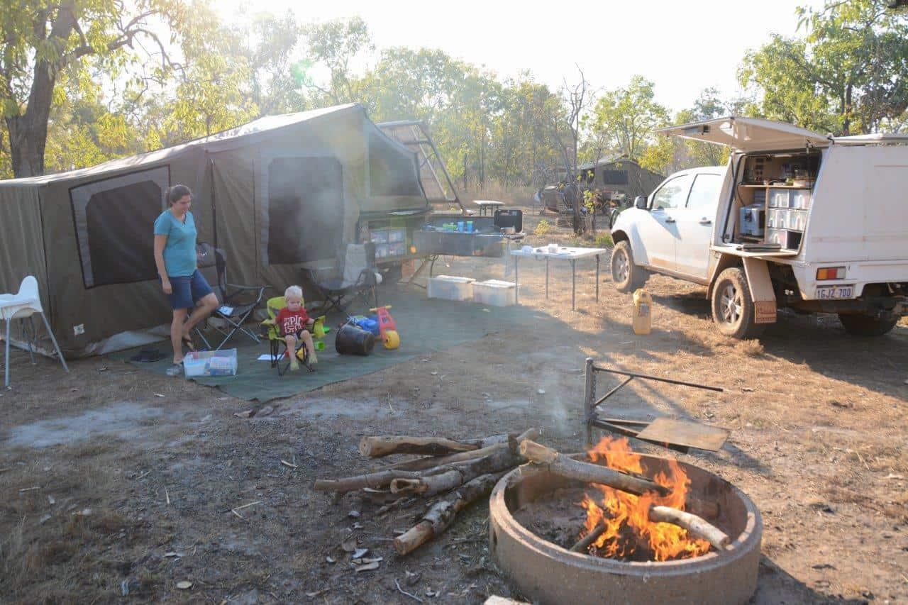Kakadu fires