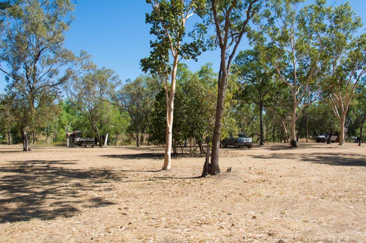Gunlom camp grounds