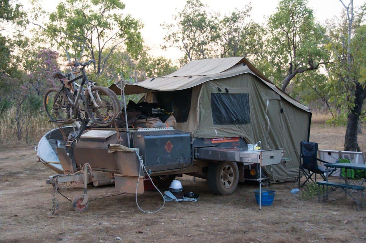 Sandy Billabong Camping