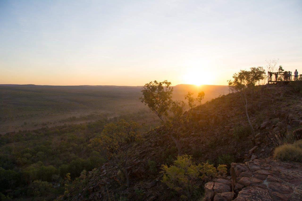 Sunset at Saddleback