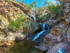 Robin Falls swimming