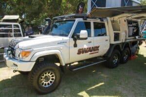 Swank 6x6 vehicle