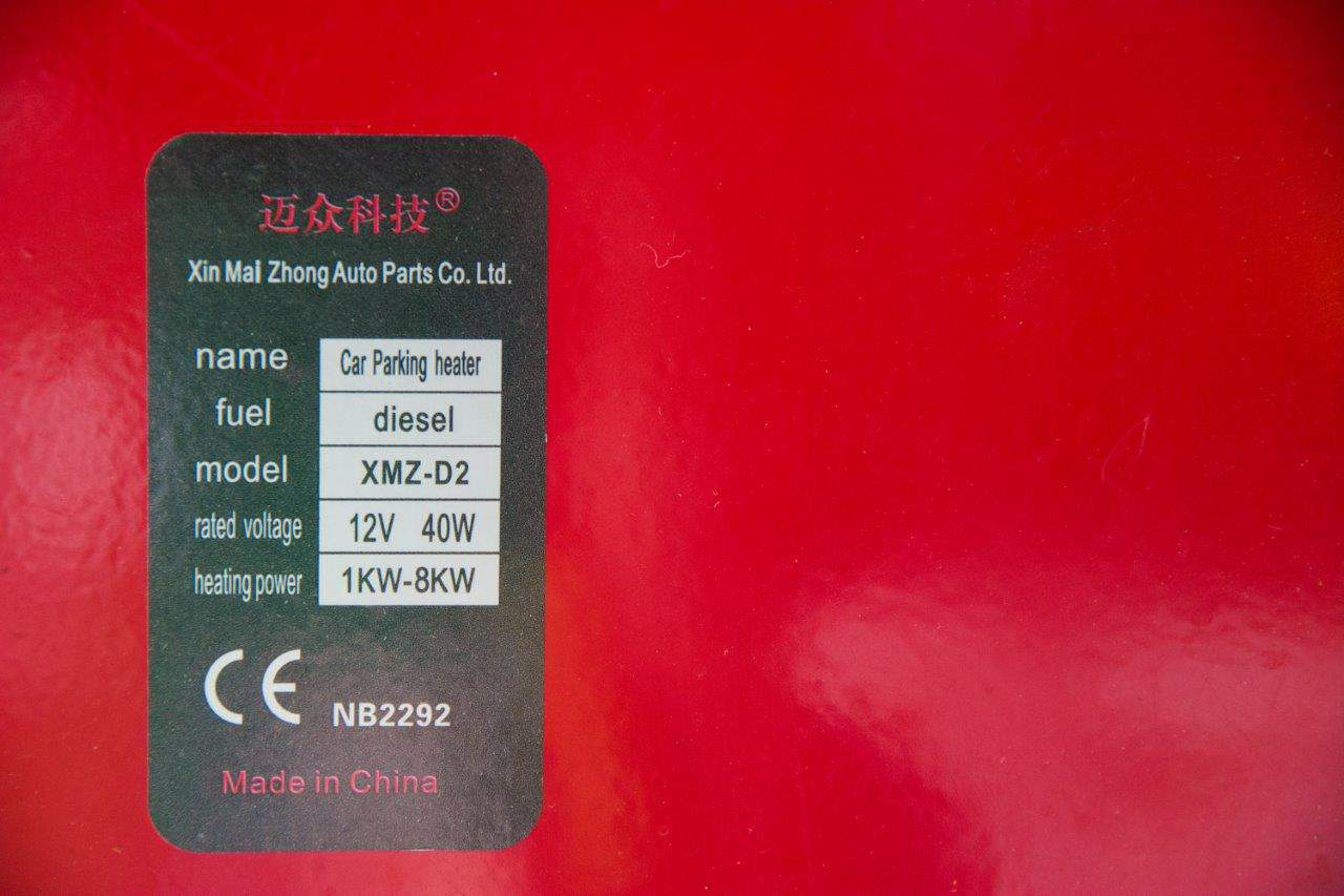 Diesel heater specifications