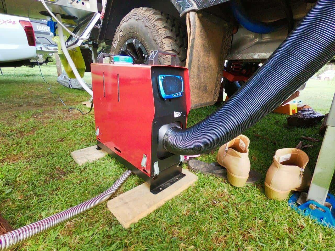 Portable Diesel heater