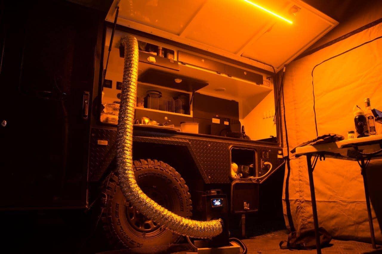 Reconn R2 diesel heater