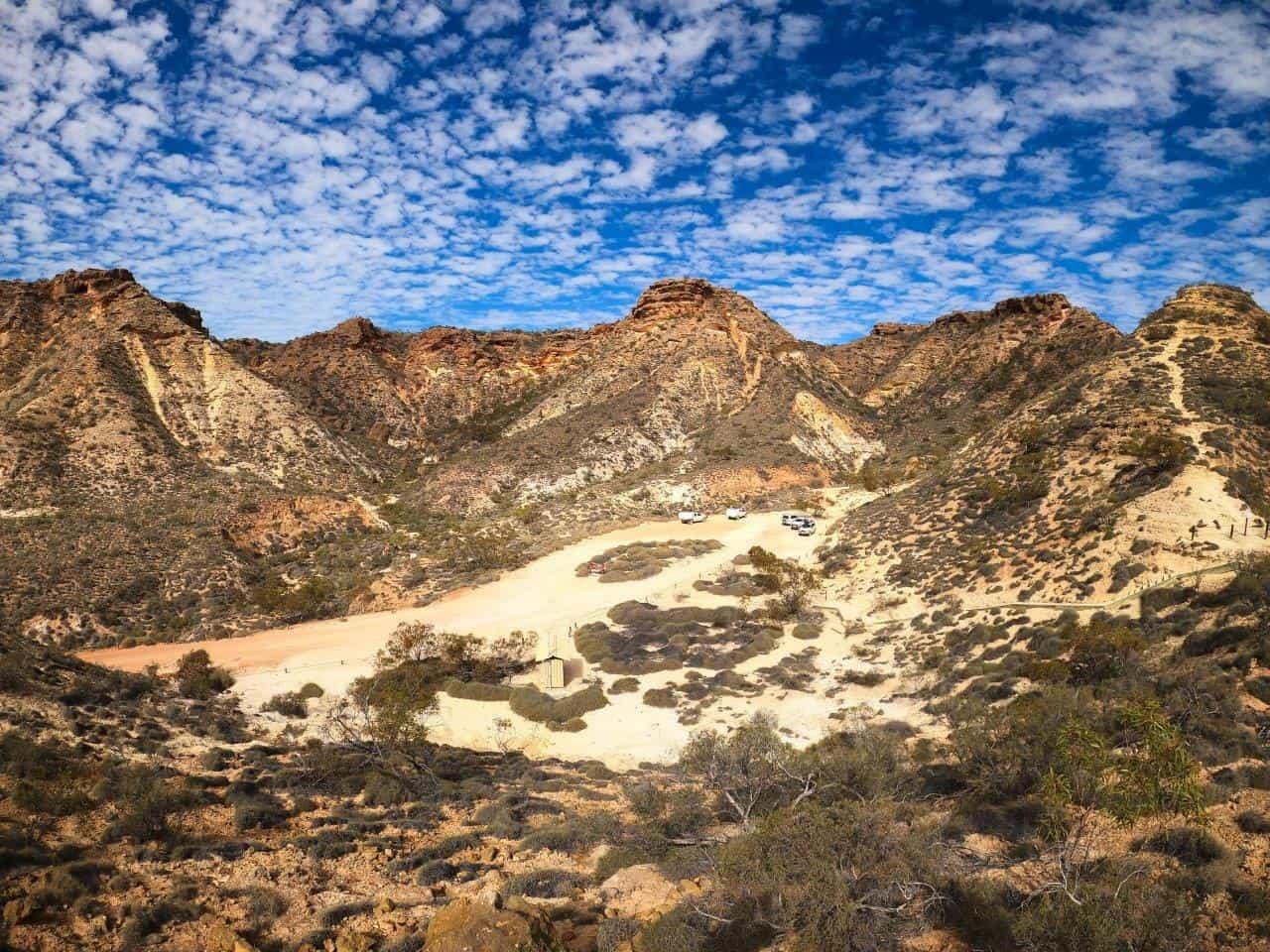 Shothole Canyon is spectacular