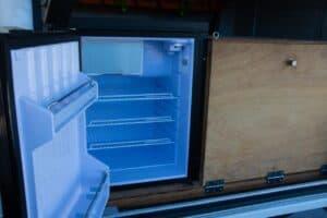 Upright fridge access