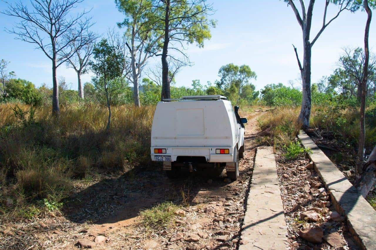 4WD track in the Kimberley
