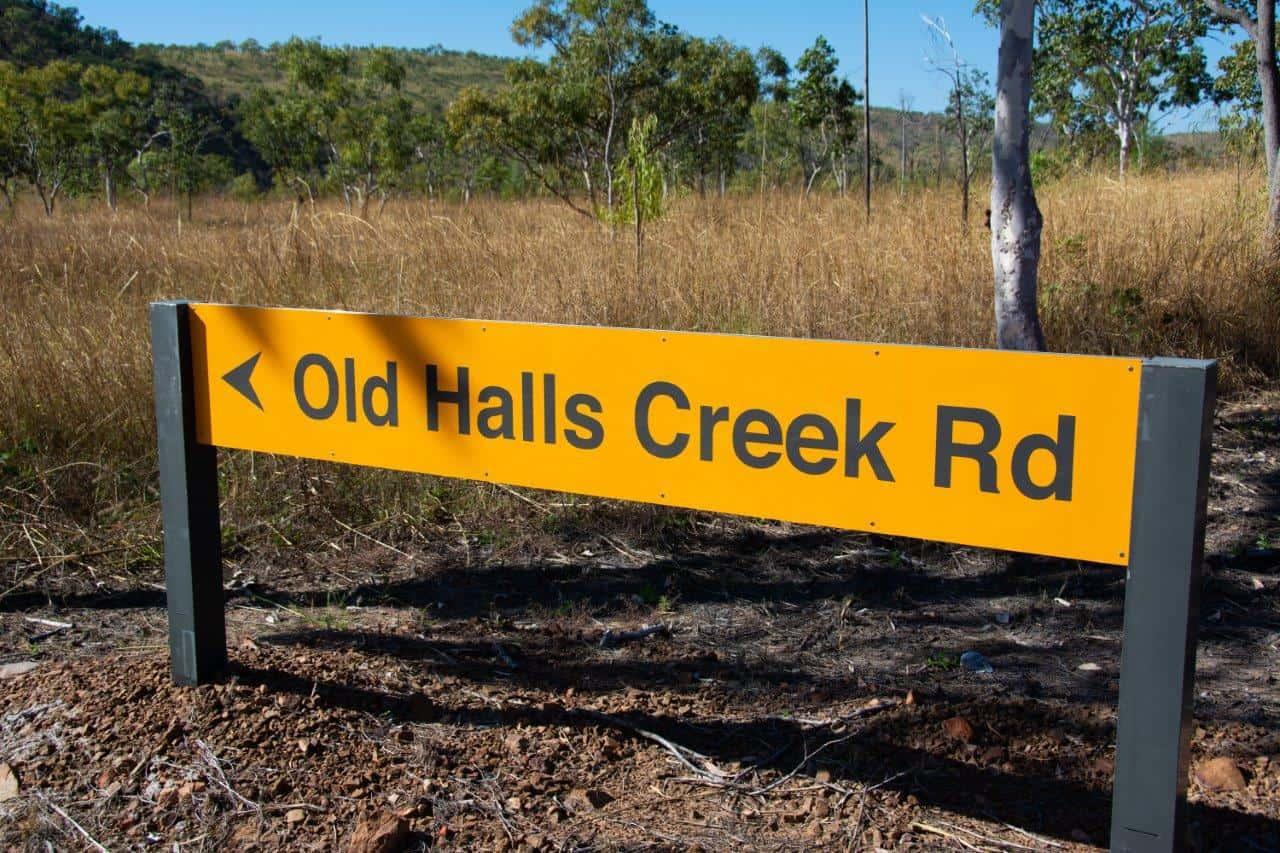 Old Halls Creek Road