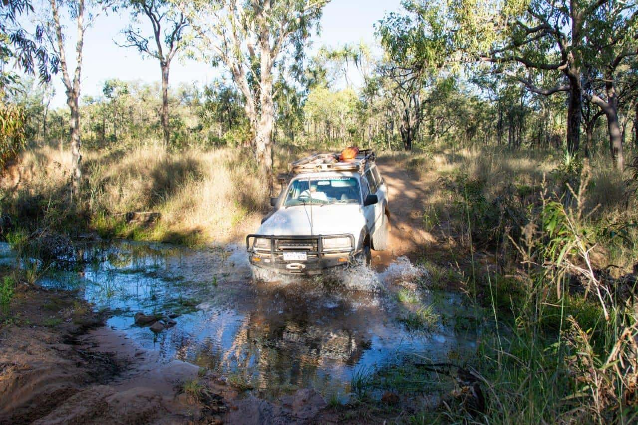 4WD tracks in the Kimberley