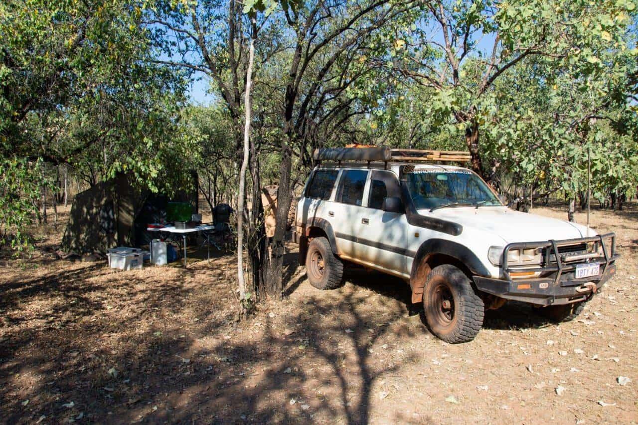 Camping at Ellenbrae