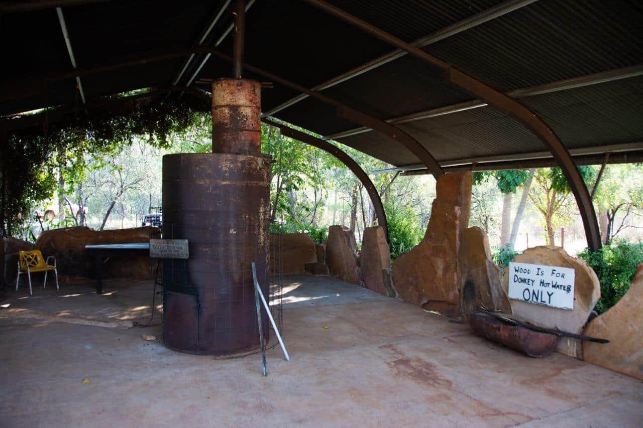 Donkey hot water system