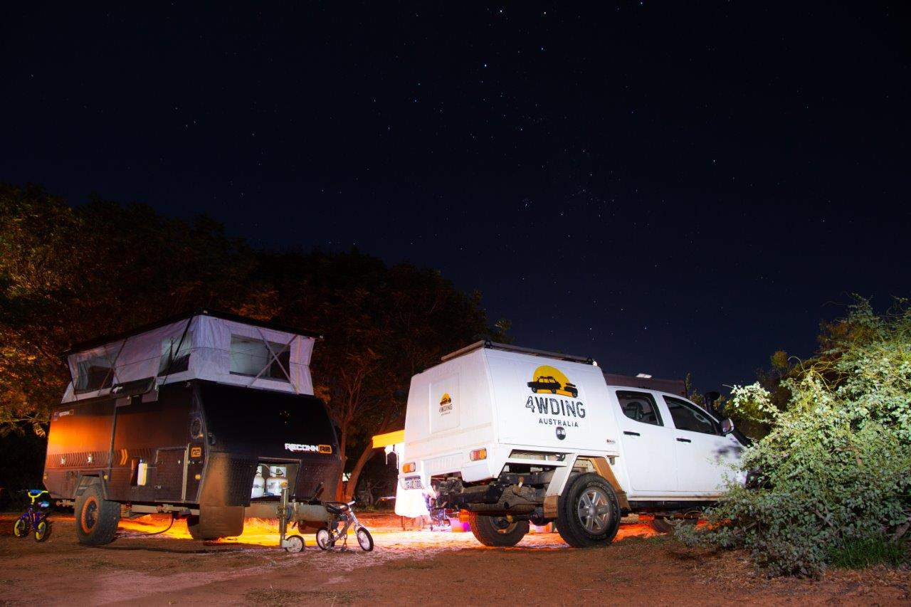 Barn Hill camp site
