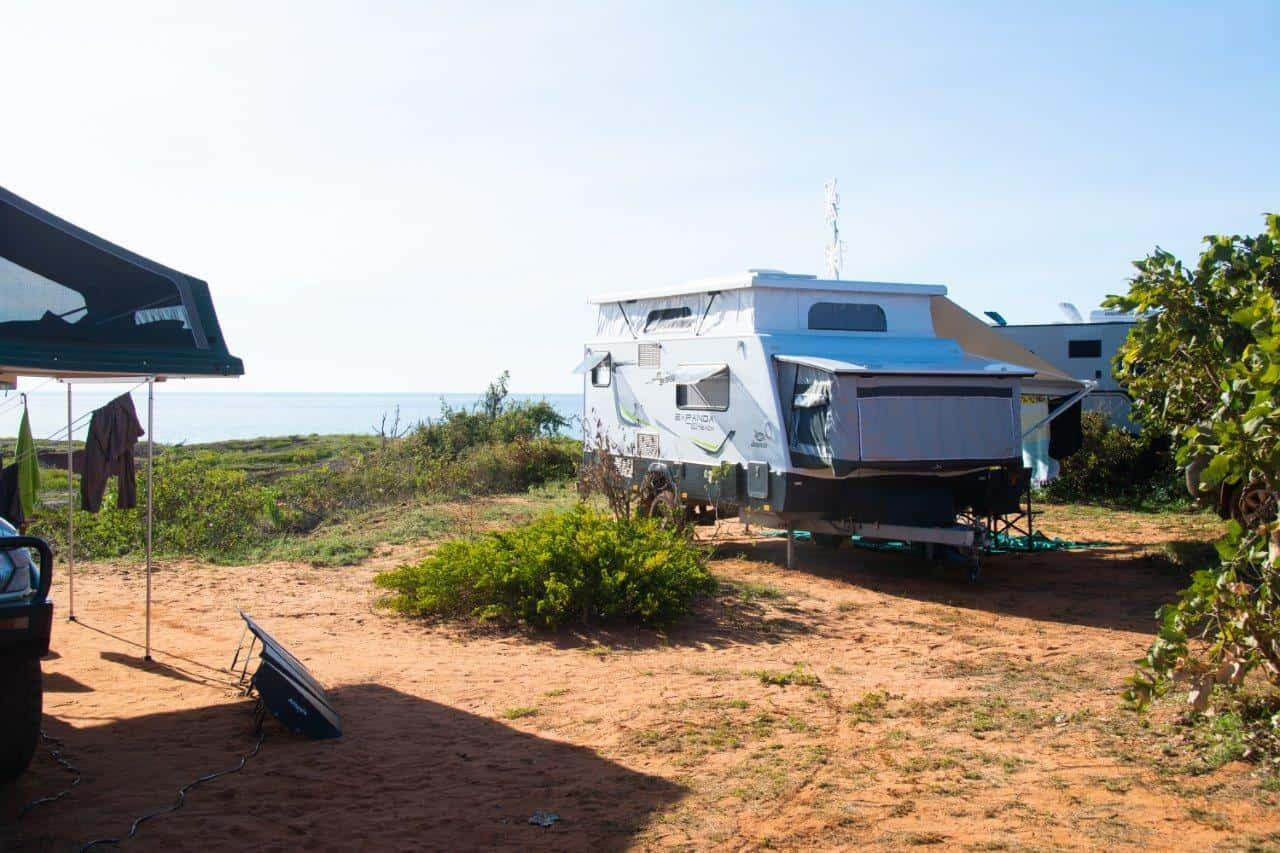 Camping at Barn Hill