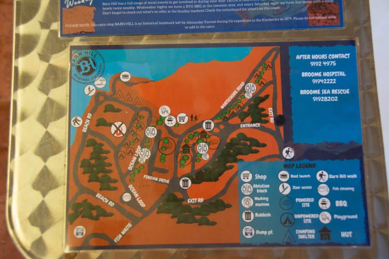 Barn Hill Map