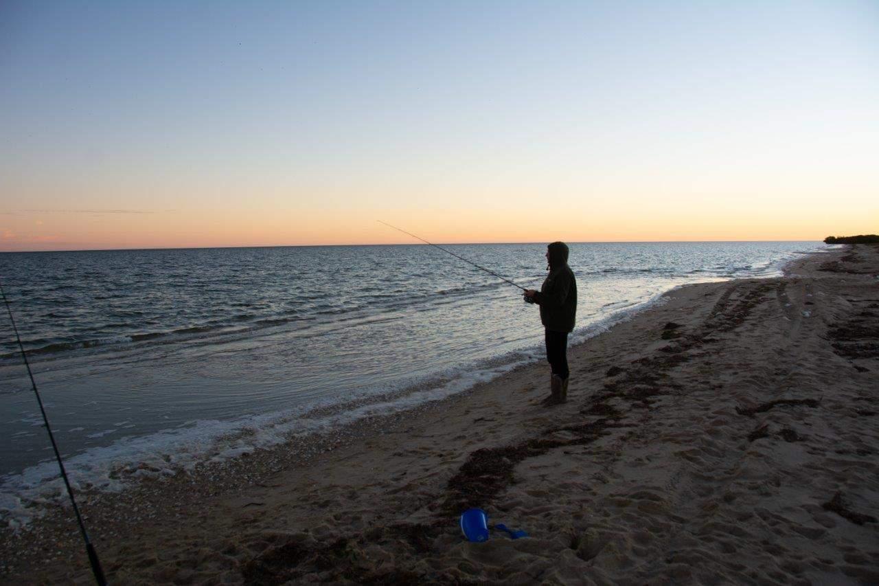 Fishing at Bush Bay