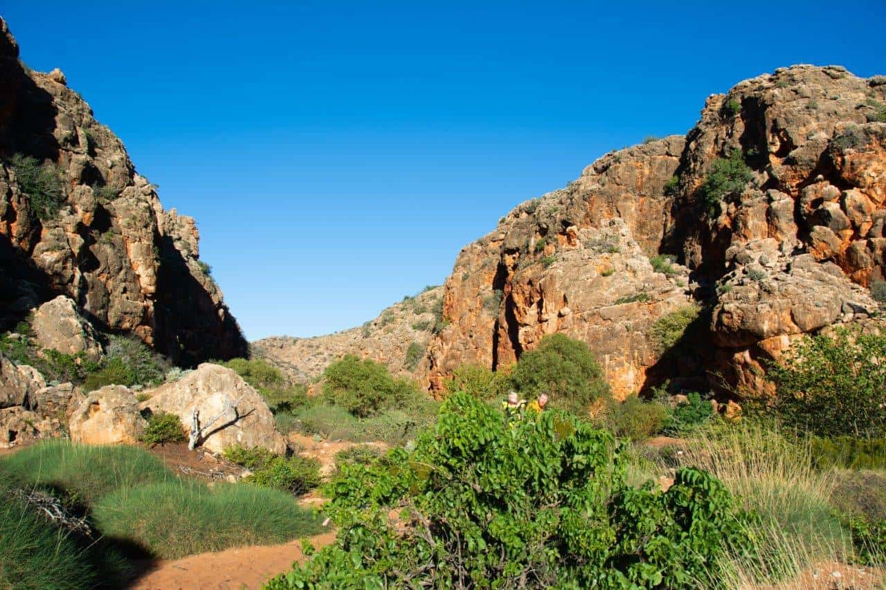 Exploring the Exmouth Gorges
