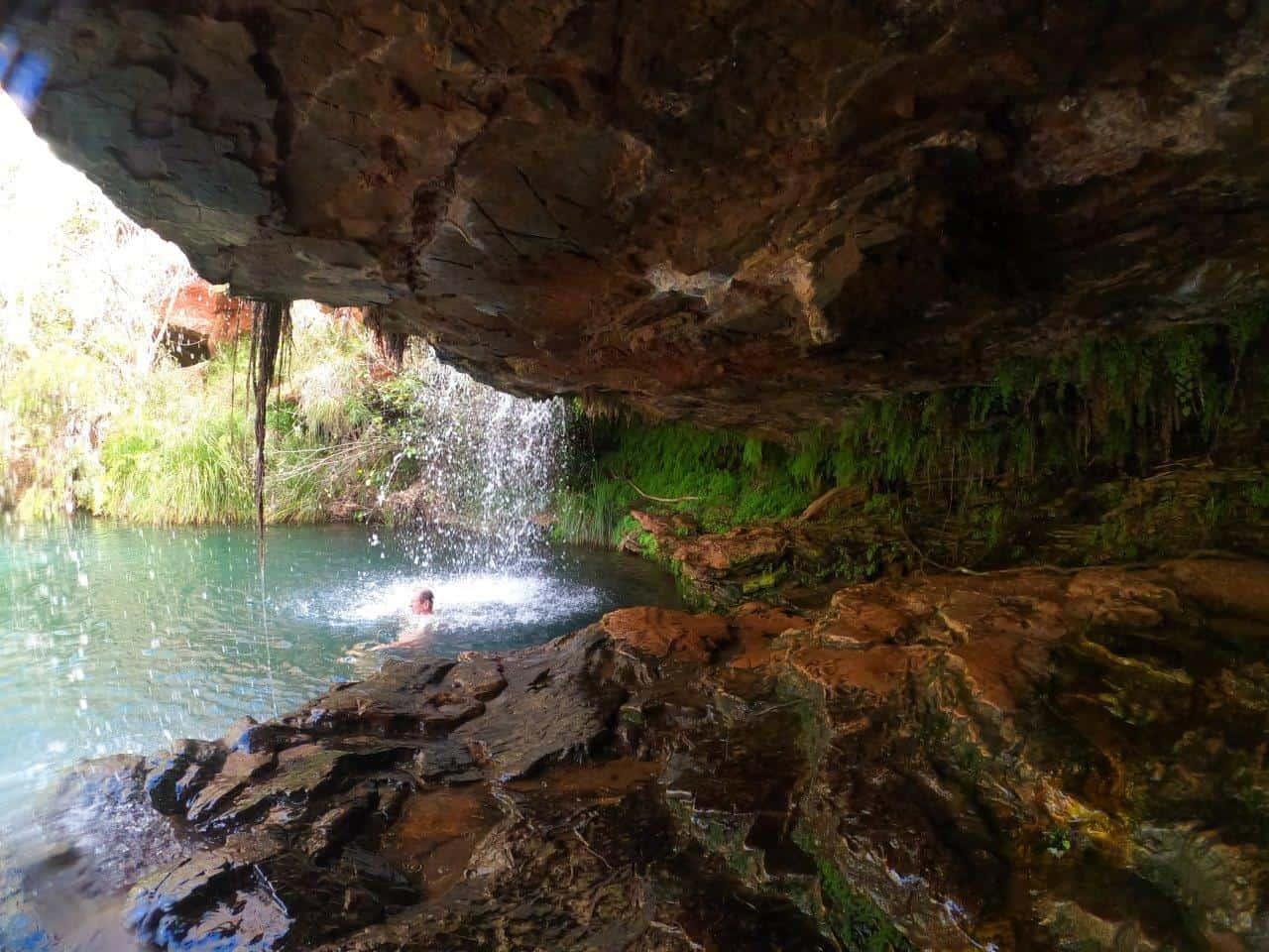 Fern Pool Waterfall