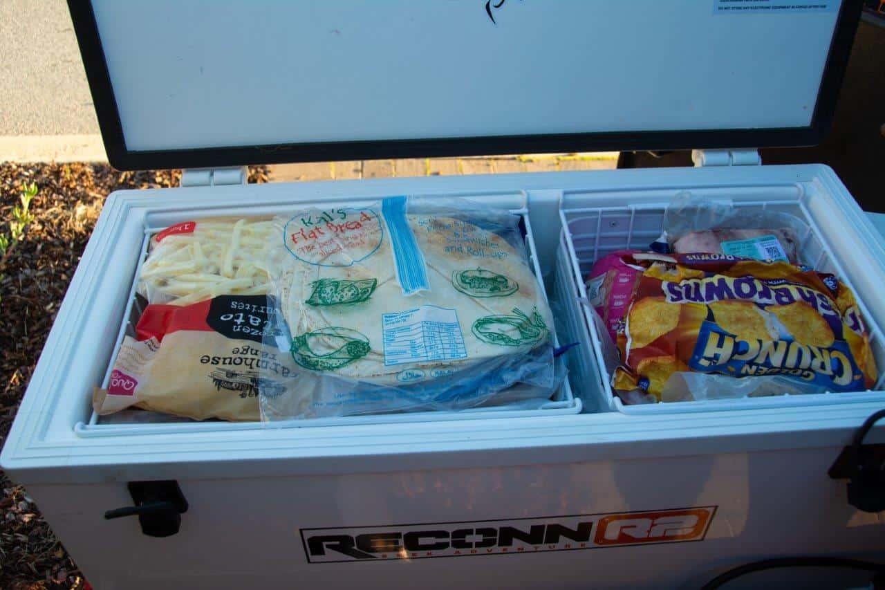 82L Evakool Freezer full